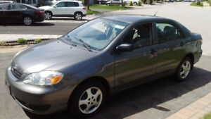 ► 2005 Toyota Corolla CE Automatic Grey Car ► Free Winter Tires