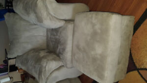 Matching couch Chair and ottoman $225 for both obo