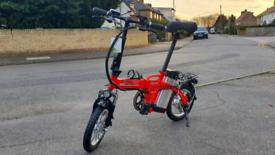 Electric 48V folding e-bike bicycle