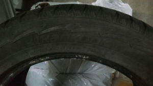 4 Hankook winter tires,  255/55/R18