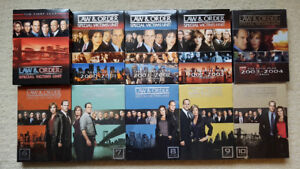 Law & Order: Special Victims Unit, Season 1-10 on DVD for sale