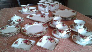 Old Country Roses -Royal Albert China
