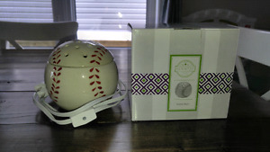 Reduced - Baseball Scentsy Warmer with Stand