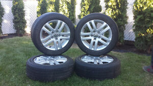 VW 205/55/16 rims and tires
