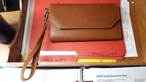 Matt & Nat Purse Clutch NEW Natural camel colour