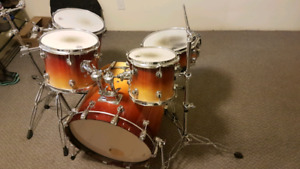 Sweet 5 piece drum set shell kit and extras
