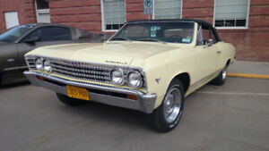 1967 Chevelle Malibu Convertible