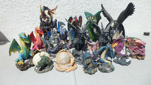 Box full of Dragon Ornaments $40
