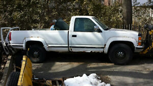 1995 Chevrolet C/K Pickup 2500 Pickup Truck with snow plow