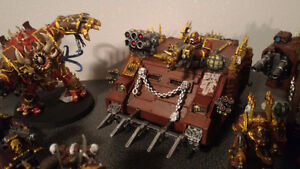 Painted 40k Chaos army, trade for X wing? London Ontario image 7