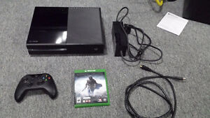 Xbox One 500GB with game