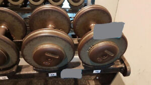 Commercial Pro-Style Dumbbells - Steel