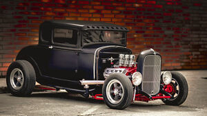 1931 Ford Model A 5 Window Steel Body Coupe