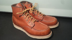 Red Wing Classic Moc Toe Boots