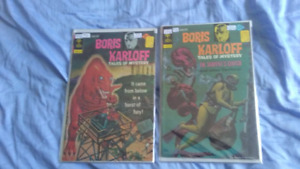 Boris Karloff comic books