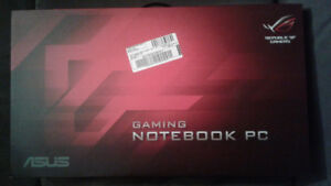 Good as NEW!! ASUS Republic of Gaming GAMING NOTEBOOK PC