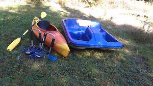 Pédalo et Kayack à vendre