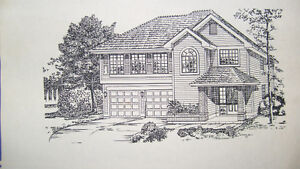 House Plans - Complete/Pristine blueprints for 1,243 sq.ft home