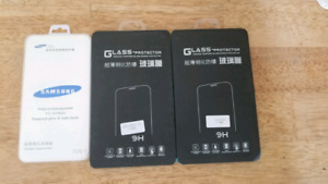 3 tempered glass screen covers: note 4 + iphone 6 + iphone 4