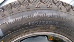 """New 14"""" winter tires for sale"""