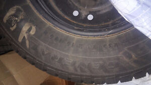 Winter Tires on Rims. Fits Ford Escape West Island Greater Montréal image 2