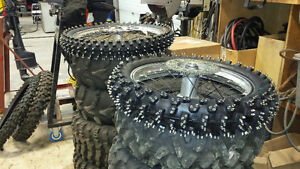 Ice Racing tires.