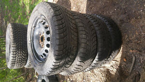 4  pneus/tires Gislaved Nord Frost 195/65R15 15 pouces / inches