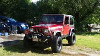 1999 jeep tj lifted