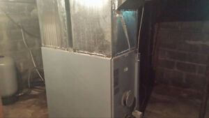 Oil Furnace with Duct Work included
