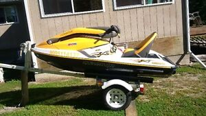 Mint 2004 Seadoo 3D and trailer