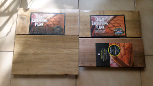 Cedar barbecuing & grilling planks