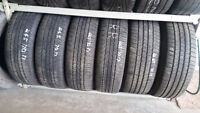 265-70-17 Quality Used Tires - 80% tread