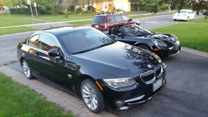 Rare 6spd, 300hp Turbo Coupe 2012 BMW 335i xdrive. (awd)