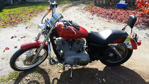 2004 Harley Sportster custom Very low km