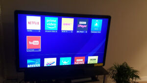 "50 "" Phillips lcd tv. Reduced price .Moving !!"