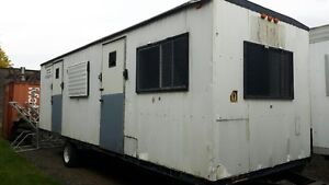 Used 8 x 30 Construction Trailer for Sale