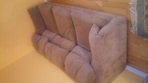 Moving sale brown comfortable couch