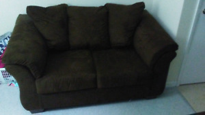 Ashely fuiturne love seat