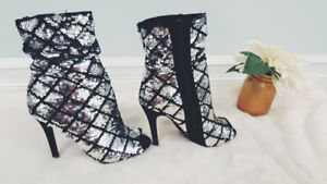 Sparkle Booties Shoes