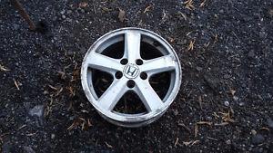 16 inch honda accord alloy rims