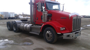 2 2010 Kenworth T800 Day cabs