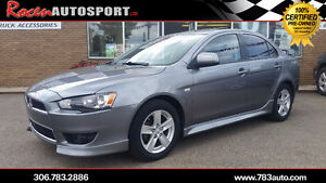 CERTIFIED 2013 Lancer SE - 5SPD - HTD SEATS - SUNROOF - YORKTON