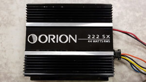 Old School Orion 2CH Car Amp