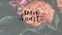 Calligraphy Classes presented by PaperHeart Calligraphy