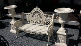 Cast bristo set garden furniture