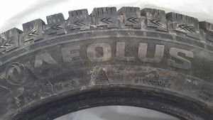 1 month used - 4 Aeolus Ice Challenger winter tires