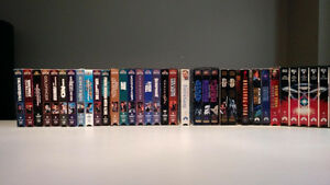 Lot de films VHS anglais