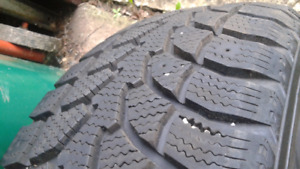 Like new set of 4 - 205/65/15 winter tires