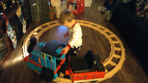 Thomas the train motorized ride on