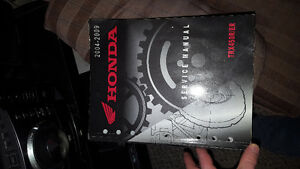 Honda trx450 service manual